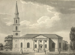 Elevation of the Church at Horbury near Wakefield